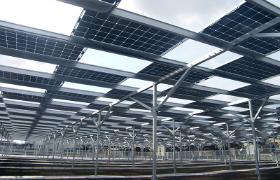 営農型太陽光発電モデル